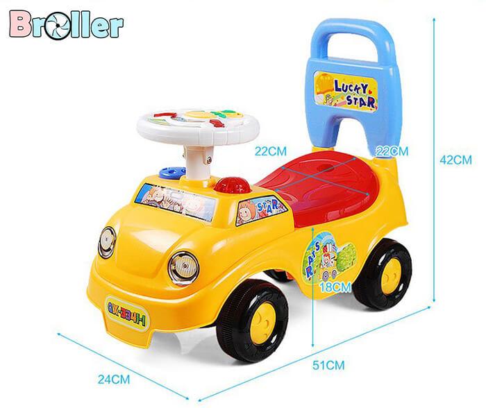 Chòi chân cho bé Broller QX-3341-1 2