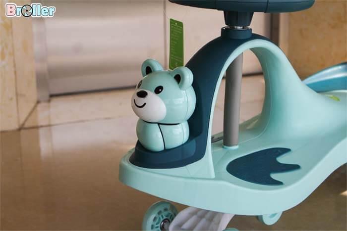 Đồi chơi xe lắc em bé Broller XL-8091B có tựa lưng