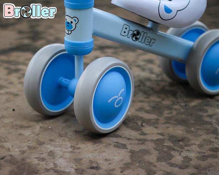 Chòi chân 4 bánh cao cấp cho bé QT-8095A 10