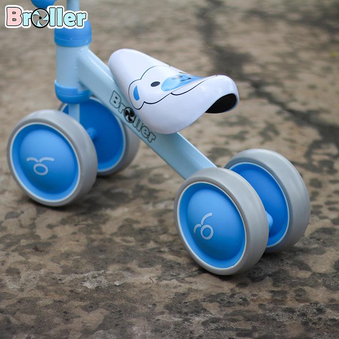 Chòi chân 4 bánh cao cấp cho bé QT-8095A 14