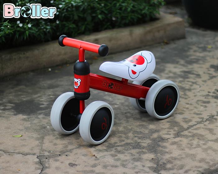 Chòi chân 4 bánh cao cấp cho bé QT-8095A 3