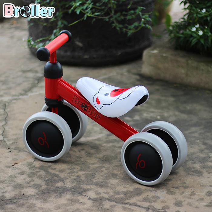 Chòi chân 4 bánh cao cấp cho bé QT-8095A 4
