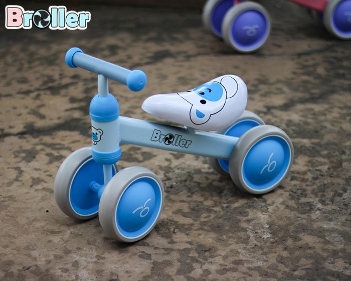 Chòi chân 4 bánh cao cấp cho bé QT-8095A 5