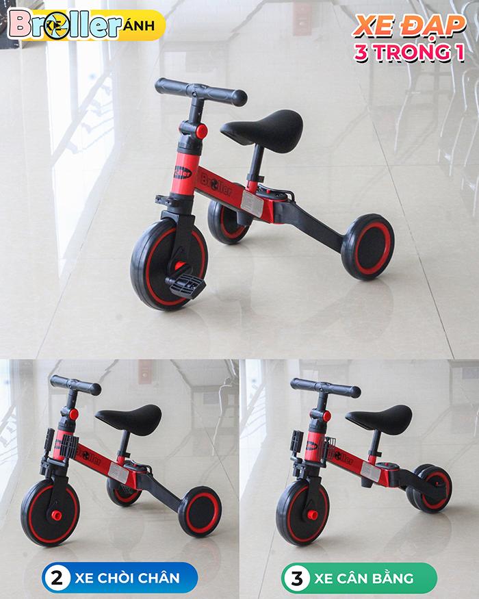 Xe đạp 3 bánh đa năng cho trẻ Broller AS006 1