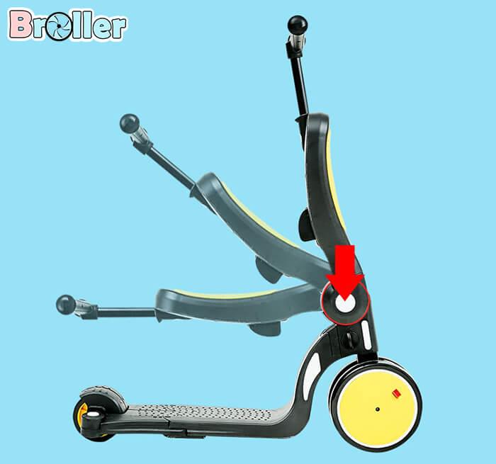 Xe đẩy chân đa năng 5 trong 1 HD200 4