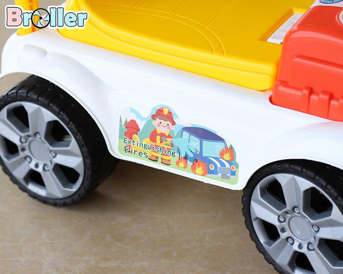 Xe cứu hỏa chòi chân cho bé 3350 11