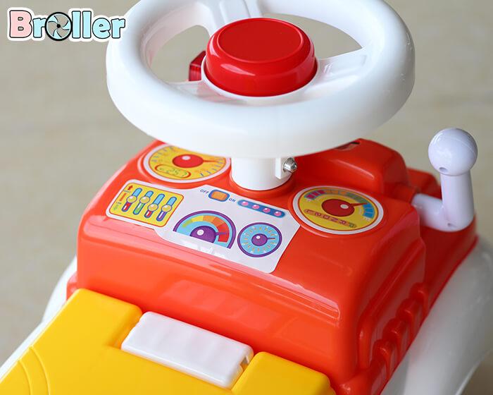 Xe cứu hỏa chòi chân cho bé 3350 9