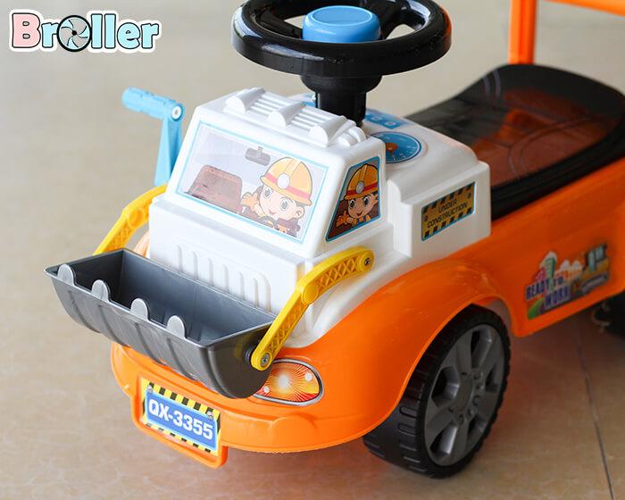 Xe ủi chòi chân cho trẻ 3355 2