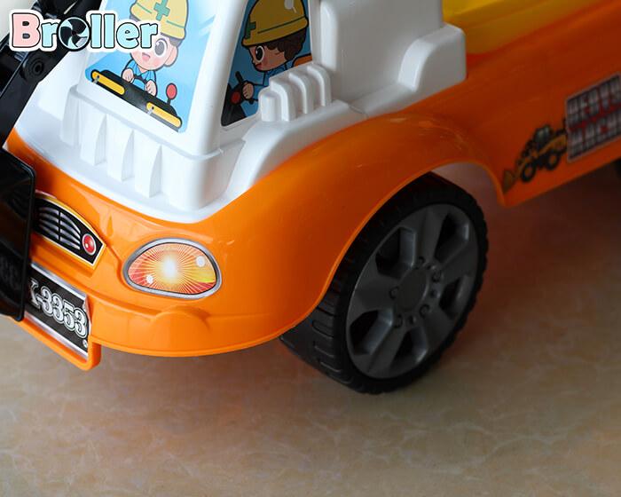 Xe xúc chòi chân trẻ em 3353 6