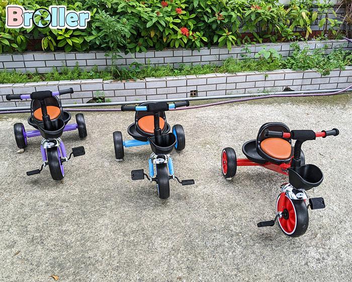 Xe đạp cho bé ba bánh Broller 906A 1