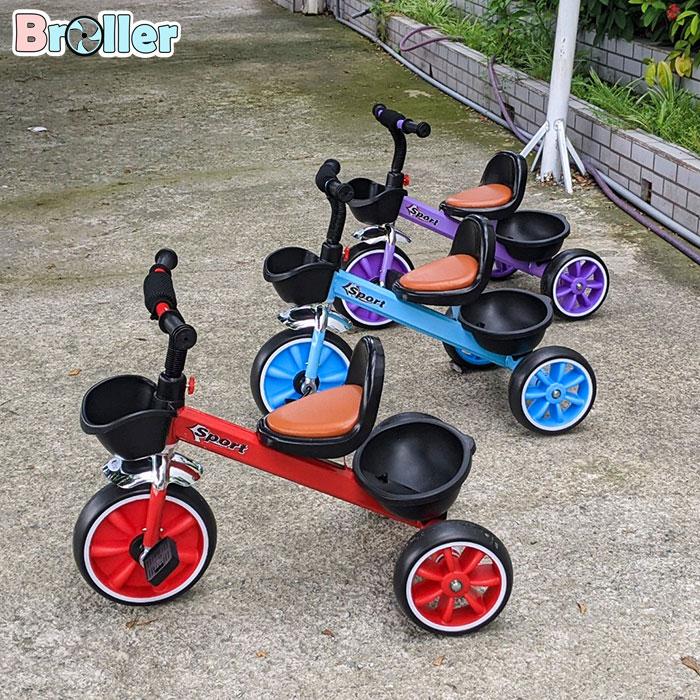 Xe đạp cho bé ba bánh Broller 906A 13