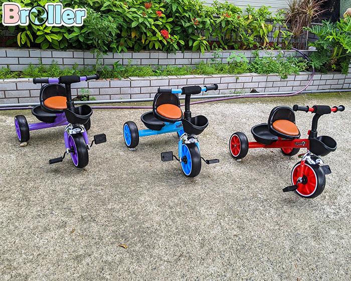 Xe đạp cho bé ba bánh Broller 906A 2