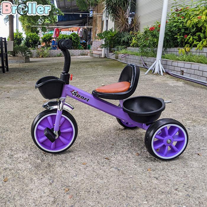 Xe đạp cho bé ba bánh Broller 906A 4