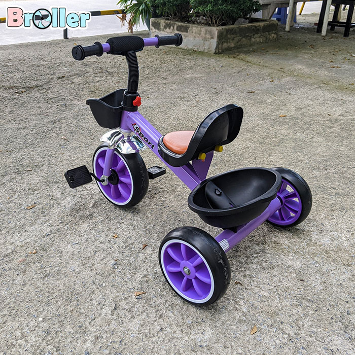 Xe đạp cho bé ba bánh Broller 906A 5