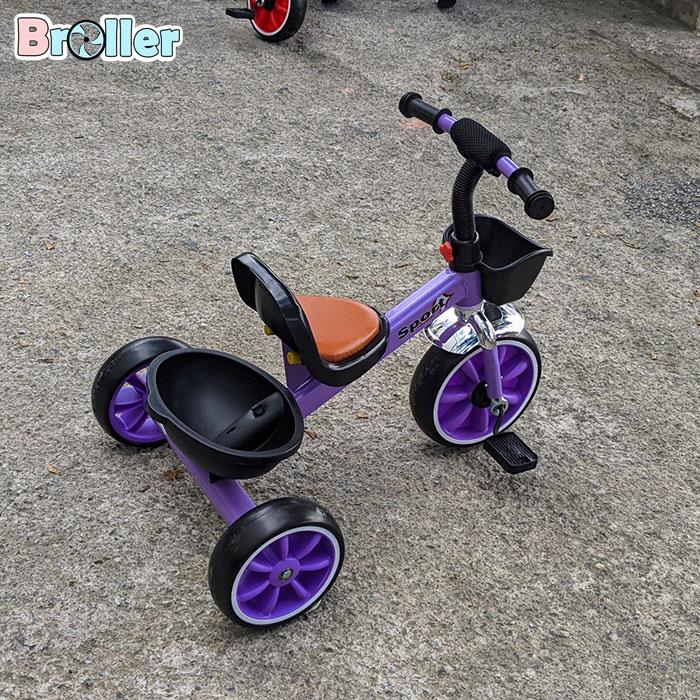Xe đạp cho bé ba bánh Broller 906A 6